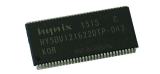 256Mbit (32Mx16bit) DDR-266 memory