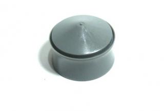 запушалка за спринцовка,5 куб.см.,сива