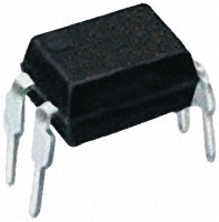 Optocoupler, Phototransistor Output, 1 Ch, If=80mA max, Vf=1.4Vmax, Vce=80Vmin, Iout=50mA