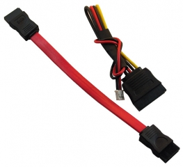SATA DATA + SATA POWER CABLE