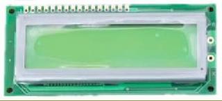 16Х2 LCD STN 122.0x44.0x14.5mm, B/L LAT+CYR FONT