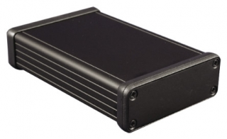 Aluminum Box 120x78x27mm Black