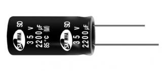 конд.ел. 20%, -40~85°C; ф10x12mm, p.5mm