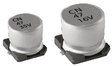 конд.ел. CN 20%, -40~85°C; D6.3xL5.4mm, основа 6.6mm