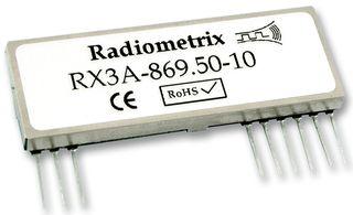 FM Receiver 869 MHz 64kbps 2.7-16V