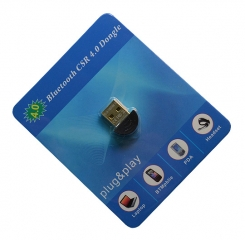 COMBINED USB DONGLE SUPPORTING: CLASSIC BLUETOOTH 2.0, HIGH SPEED BLUETOOTH 3.0