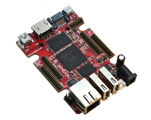 Open Source Hardware Embedded ARM Linux single board computer with Allwinner A10 Cortex-A8