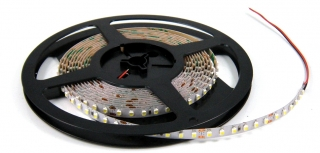 Flexible LED Strip, 3528, 3000K, 360lm/m, 4.8W/m, 60 leds/m, 12V, CRI80