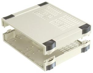 Box Botego;307x256x80mm;IP40;Vent;Light Grey
