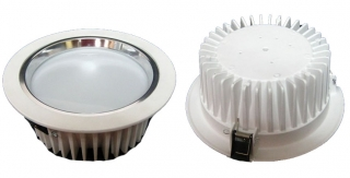 Down Light Body, 18W, ?190mm x h80mm