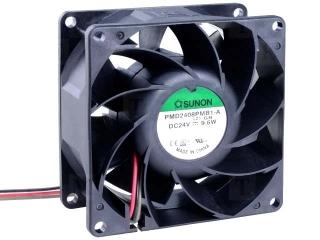 12VDC, 80x80x38mm, 9.1W, 142.9m3/h, 5700RPM