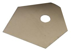 Слюдена подложка за TO-3P 20.5x17.5x0.05mm 5kV  0.4K/W
