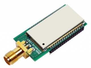 Bluetooth embedded OEM module DIP type, Class1 with RP-SMA connector