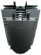 Heatsink Passive; D99x160mm; TDP 49.4W; 1.01'C/W; Philips Fortimo SLM, Zhaga