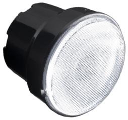 Assembly Lens Iris, Medium Beam, Screw/Glue Fastening, Material-PMMA O38x30mm