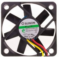 12VDC, 50x50x10mm, 1.26W, 18.69m3/h, 4300RPM; сигнал за обороти