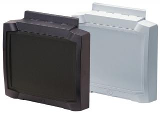 Lid for BCD 310UT-7035, Graphite grey, 324x289.2x37.2mm
