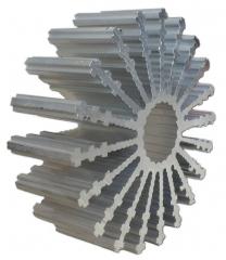 Aluminium Profil Heat Sink, Diam.=80mm, L=30mm, 2.5K/W