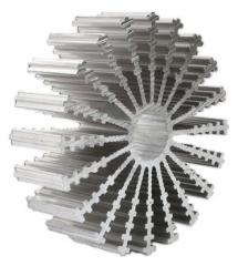 Aluminium Profil Heat Sink, Diam.=100mm, L=30mm, 1.9K/W