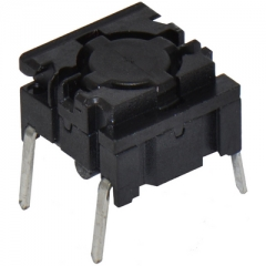 Pushbutton Switch;Leveled Actuator;10x10mm;SPST/OFF-ON;3.5N;50mA/24VDC;IP67