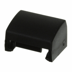 Cap Rectangular; 12.5x10.1mm; Black