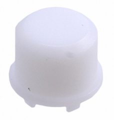 Cap Round; h=14.9mm; D=9.6mm; Frosted White