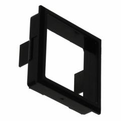 Bezel Square; 17.75x17.75mm; Black