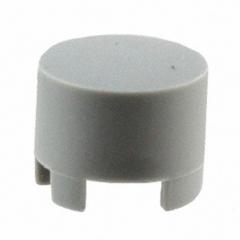 Cap Round; h=9.5mm; D=6.5mm; Grey