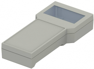 Box BOS;224x106x40mm;IP40;Disp;Adate gray