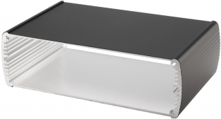 Box Alubos;Al; 169x150x52mm;IP40;Black