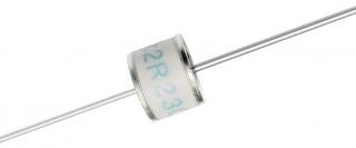Газов разрядник, 2 ел., 600V 8x6mm аксиални изводи