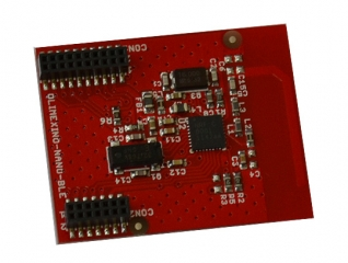 BLUETOOTH LOW ENERGY MODULE BASED ON NRF8001 CHIPSET FOR OLIMEXINO-NANO
