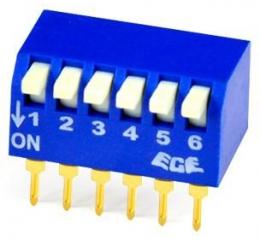 DIP switch  2p
