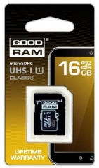 16GB microSDHC (Class 4), UHS-1, included SD Adapter