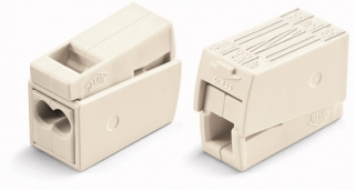 CAGE CLAMP® Terminal block, pluggable, 1.0 - 2.5 mm, 2 pos, 400V/24A, white