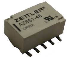 1A/12VDC 1028Ohm DPDT Polarized, SMD Microminiature