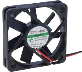 5VDC, 50x50x10mm, 1.3W, 22.09m3/h, 5200RPM  ||  DISCONTINUED
