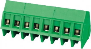 10A 300V AC AWG24-12 5mm green