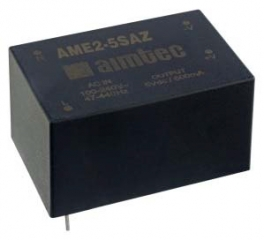2W; Uin:90-305VAC;  Uout:5VDC;  Iout:400mA, isol.3000VAC