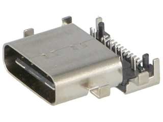 USB 3.1; C-Type Socket; Middle Mount Right Angle