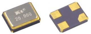 crystal Fund 25.000 MHz 3.2x2.5mm SMD (DFN) 15ppm 8pF -20+70°C