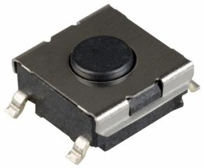 Tact sw. 2p SPST-NO Off-Mom. 50mA/24V 6х6x3.1mm 100gf