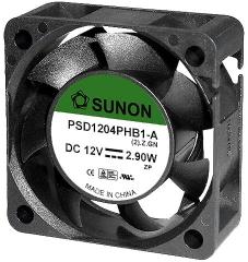 12VDC, 40x40x15mm, 23.79m3/h,2.9W, 12000RPM