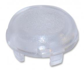Cap Round; Low Profile; D=9.6mm; Transparent