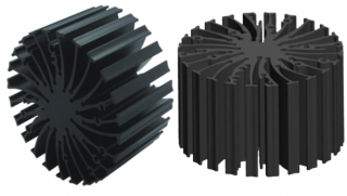 Heatsink Passive; D70x50mm; 22.9W; 2.20'C/W; supports Zhaga Book 3 and 11 holders
