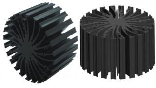 Пасивен охладител; D70x50mm; 22.9W; 2.20'C/W; отвори за Zhaga Book 3 и 11 холдери
