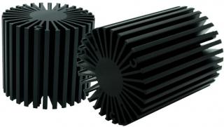Heatsink Passive; D58x70mm; 15.5W; 2.9'C/W; supports Zhaga Book 3 and 11 holders