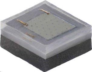 1.6x1.6mm, High Intensity Green 520-535nm, 93.9lm@350mA, 1A max, 130°