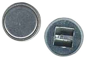 iButton port with groove