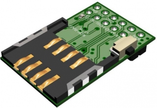 Adapter to connect IQRF wireless transceiver Raspberry Pi